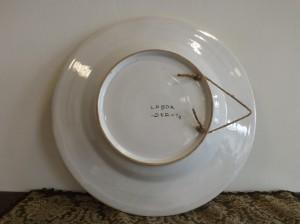 Ceramica di Deruta diametro 41 cm (particolare)