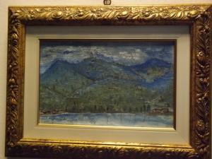 D.Debennardi. dipinto olio su cartoncino.